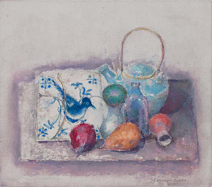 Still Life with Portuguese Tile